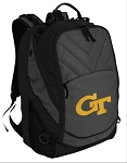 Georgia Tech Deluxe Laptop Backpack Black