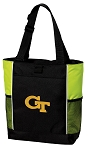 Georgia Tech Tote Bag COOL LIME