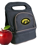 University of Iowa Lunch Bag Black