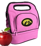 University of Iowa Hawkeyes Lunch Bag Pink
