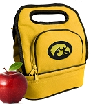 Iowa Hawkeyes Lunch Bag Gold