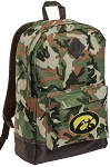Iowa Hawkeyes Camo Backpack