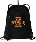 Iowa State Drawstring Backpack-MESH & MICROFIBER