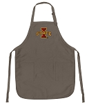 Official Iowa State University Logo Apron Tan