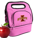 ISU Iowa State Lunch Bag Pink