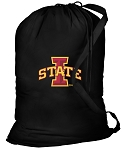 Iowa State Laundry Bag Black