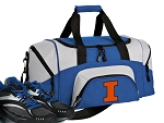 University of Illinois Small Duffle Bag Royal