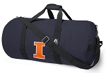 University of Illinois Illini Duffle Bag Navy