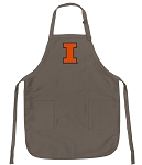 University of Illinois Deluxe Apron