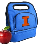 University of Illinois Lunch Bag Blue