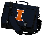 University of Illinois Illini Messenger Bag Navy