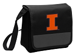University of Illinois Lunch Bag Cooler Black