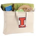 University of Illinois Jumbo Tote Bag