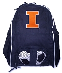 University of Illinois Illini SOCCER Backpack or VOLLEYBALL Bag