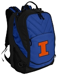 University of Illinois Deluxe Computer Backpack Blue