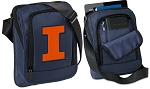 University of Illinois Illini Tablet or Ipad Shoulder Bag Navy