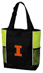 University of Illinois Tote Bag COOL LIME