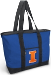 University of Illinois Blue Tote Bag