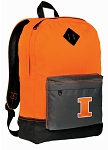 Illini Backpack HI VISIBILITY Orange University of Illinois CLASSIC STYLE