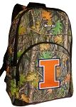 University of Illinois Backpack REAL CAMO DESIGN