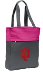 IU Indiana University Tote Bag Everyday Carryall Pink