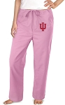 IU Indiana University Pink Scrubs Pants Bottoms