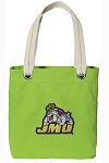 JMU Tote Bag RICH COTTON CANVAS Green