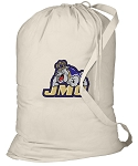 JMU Laundry Bag Natural