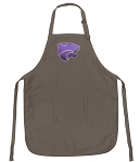 Official K-State Logo Apron Tan