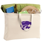 Kansas State Jumbo Tote Bag