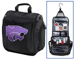 Kansas State Toiletry Bag or K-State Shaving Kit Travel Organizer for Men