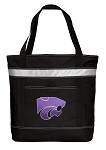 K-State Insulated Tote Bag Black