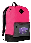 K-State Backpack HI VISIBILITY Kansas State CLASSIC STYLE For Her Girls Women