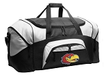 University of Kansas Duffel Bags or Kansas Jayhawks Gym Bags For Men or Women