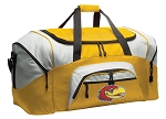 Large University of Kansas Duffle Bag or Kansas Jayhawks Luggage Bags