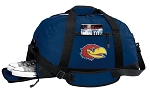 University of Kansas Duffle Bag Navy