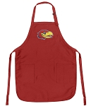 Official University of Kansas Logo Aprons