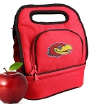 University of Kansas Lunch Bag Red