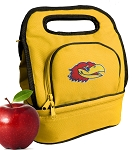 University of Kansas Lunch Bag Gold