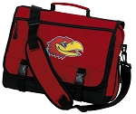 University of Kansas Messenger Bag Red