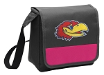 Kansas Jayhawks Lunch Bag Cooler Pink