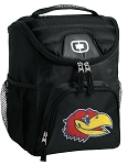 Kansas Jayhawks Insulated Lunch Box Cooler Bag