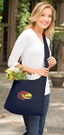 University of Kansas Tote Bag Sling Style Navy