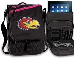 Kansas Jayhawks Tablet Bags & Cases Pink