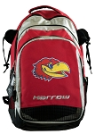 University of Kansas Harrow Field Hockey Backpack Bag Red