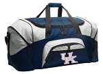 Large Womens University of Kentucky Duffle UK Wildcats Duffel Bags