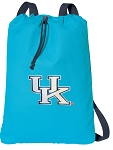Kentucky Wildcats Cotton Drawstring Bag Backpacks Blue
