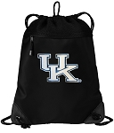 Kentucky Wildcats Drawstring Backpack-MESH & MICROFIBER