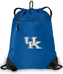 Kentucky Wildcats Drawstring Bag MESH & MICROFIBER Royal