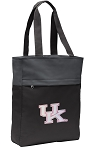 Pink UK Wildcats Logo Tote Bag Everyday Carryall Black